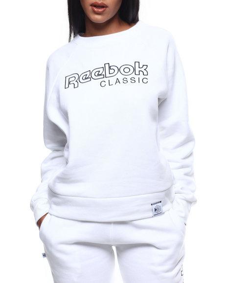 Reebok - Classics Big Logo Fleece Crew