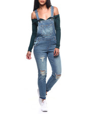 Overalls - Distressed Denim Overall-2304203