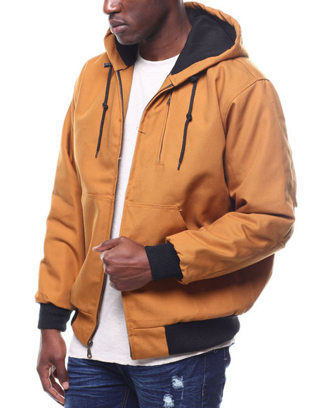 Buyers Picks - Quilted Canvas Jacket w Hood