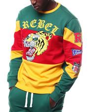 Buyers Picks - Mascot Colorblock Crewneck Sweatshirt-2305062