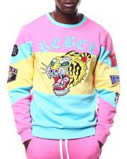 Buyers Picks - Mascot Colorblock Crewneck Sweatshirt-2305048