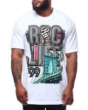 Men - Roc For Life S/S Tee (B&T)-2305971