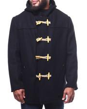 Schott - Long Toggle Wool Hooded Coat (B&T)-2305118