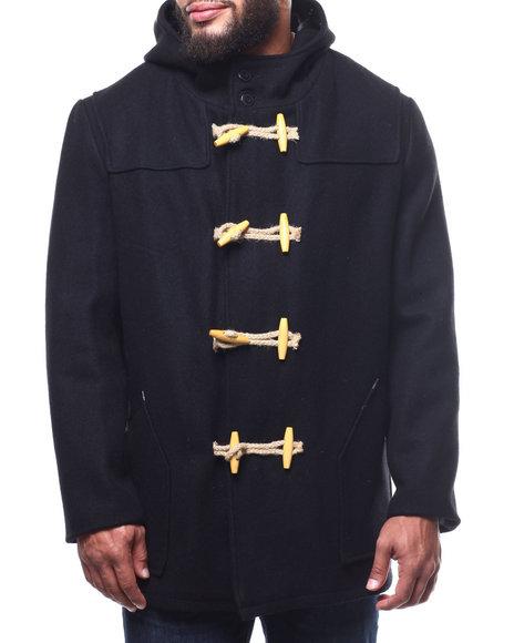 Schott - Long Toggle Wool Hooded Coat (B&T)