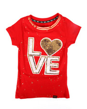 Girls - Sequined Patch Tee (7-16)-2305680