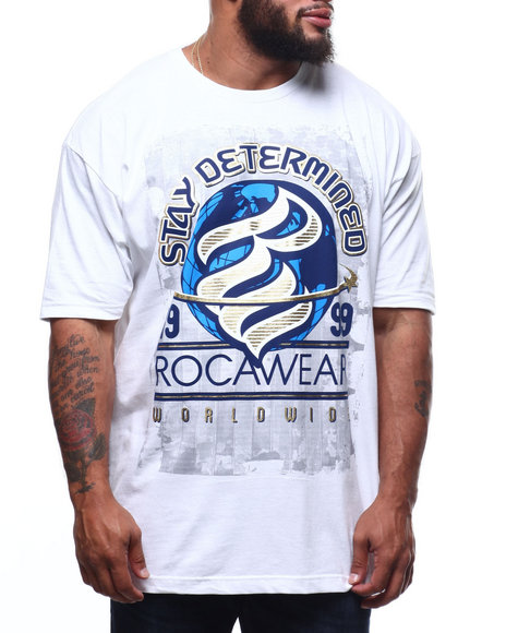 Rocawear - Determined Mission S/S Tee (B&T)