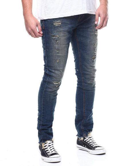 Jordan Craig - Sean Skinny Fit 2 year worn jean