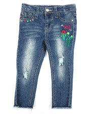 Girls - Wild West Ankle Skinny Jeans (2T-4T)-2304871