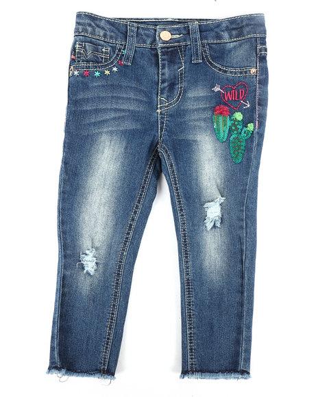 Vigoss Jeans - Wild West Ankle Skinny Jeans (2T-4T)