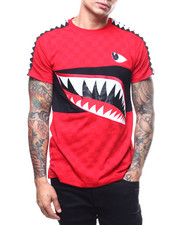 Shirts - Shark Mouth Trimmed Tee-2305759