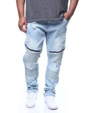 Big & Tall Faves - Rip & Repair Moto Stretch Jean (B&T)-2305598