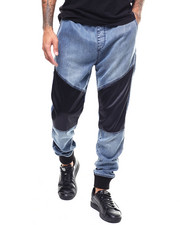 Mens-Winter - JOGGER WITH CONTRAST PANELS-2306413