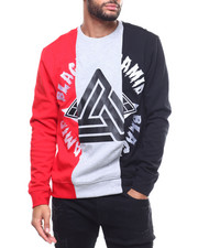 Mens-Winter - Split 3 Ways Logo Crew-2306307