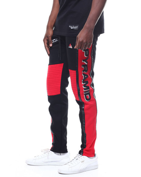 Black Pyramid - TEAM OHB CRIMSON TRACK PANT