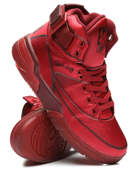 EWING - Ewing 33 Hi Red Satin Sneakers