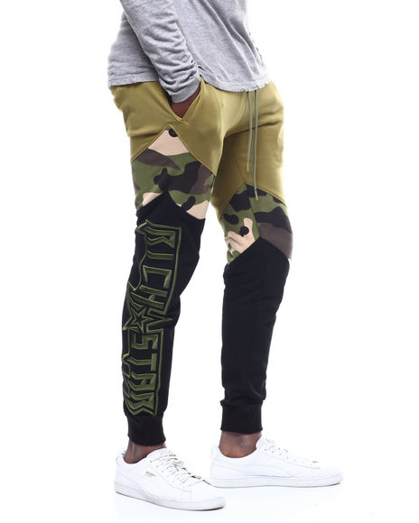 Rich Star - CURVED CAMO COLORBLOCK PANT