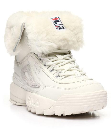 Fila - Disruptor Shearling Boots