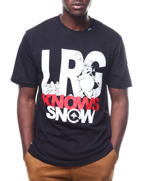 LRG - KNOWS SNOW TEE
