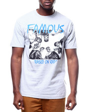 Famous Stars & Straps - RAISED ON RAP TEE-2306910