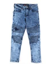 Jeans - Skinny Rip & Repair Moto Jeans (8-20)-2306647