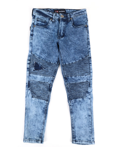 Phat Farm - Skinny Rip & Repair Moto Jeans (8-20)