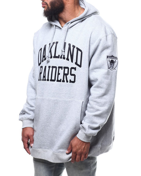 Mitchell & Ness - Raiders Playoff Win Hoodie (B&T)