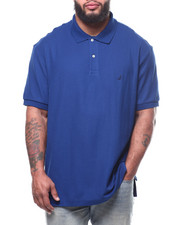 Big & Tall - S/S Anchor Solid Deck Polo (B&T)-2307505