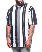 Big & Tall Faves - S/S Stripe Tee (B&T)-2307477
