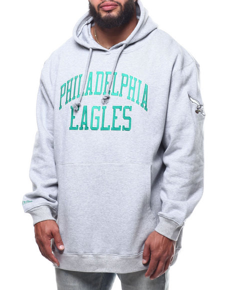 Mitchell & Ness - Eagles Playoff Win Hoodie (B&T)