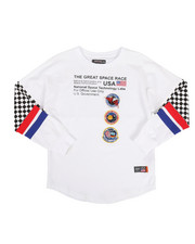 Hudson NYC - Great Space Race Long Sleeve Shirt (5-18)-2307049
