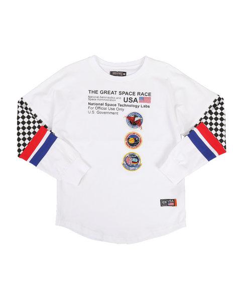 Hudson NYC - Great Space Race Long Sleeve Shirt (5-18)