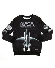 Sweatshirts & Sweaters - Nasa Spaceship Crew-neck Sweatshirt (5-18)-2307348