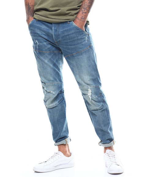 G-STAR - 5620 3D Slim Moto Jean