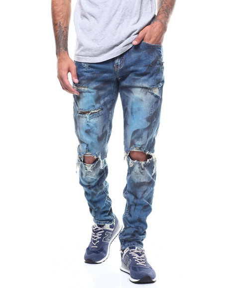 Crysp - Pacific Grease Stain Jean