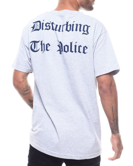 Famous Stars & Straps - DISTURBING THE POLICE TEE