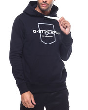 Mens-Winter - Raw Pocket Logo Hoody-2307851