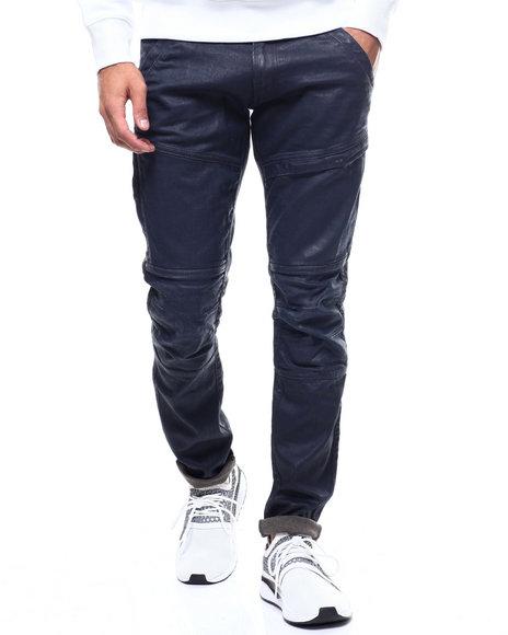 G-STAR - Rackam Skinny Waxed Stretch Jean
