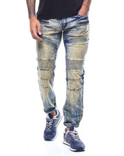 Jeans & Pants - DIRT BLUE ARTICULATED KNEE JEAN-2307791
