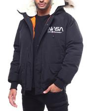 Outerwear - Nasa Fur Hood Bomber Jacket-2307571