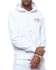Mens-Winter - PAINT SPLATTER HOODIE-2307744