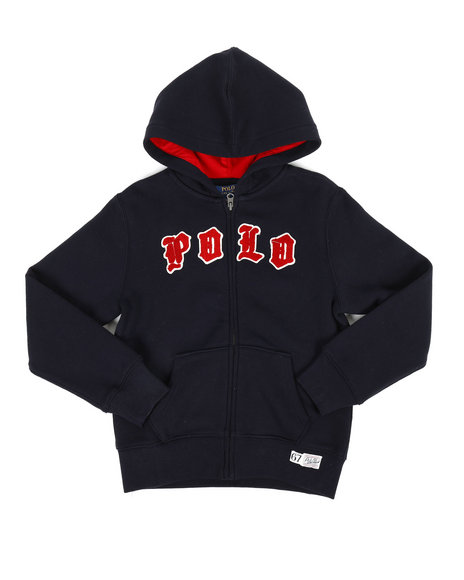 Polo Ralph Lauren - Polo Long Sleeve Fleece Hoodie (8-20)
