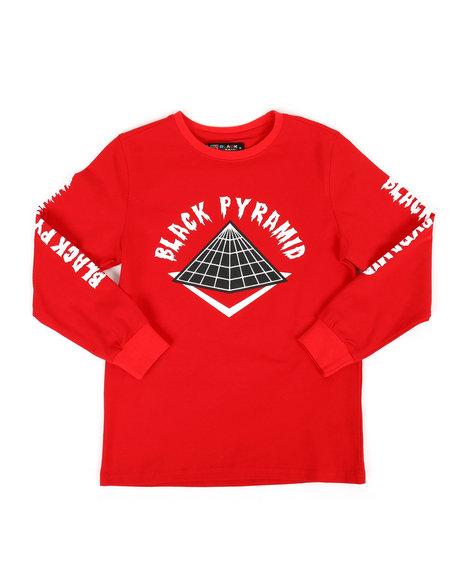 Black Pyramid - Long Sleeve BP Drip Logo Shirt (5-18)