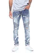 Crysp - Skywalker Blown out Knee Moto Jean-2307721