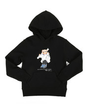 Polo Ralph Lauren - Seasonal Fleece Bear Pullover Hoodie (8-20)-2307552