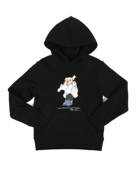 Polo Ralph Lauren - Seasonal Fleece Bear Pullover Hoodie (8-20)