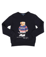 Polo Ralph Lauren - Seasonal Fleece Bear Pullover Sweatshirt (8-20)-2307541