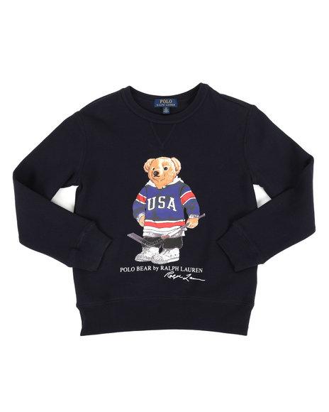Polo Ralph Lauren - Seasonal Fleece Bear Pullover Sweatshirt (8-20)