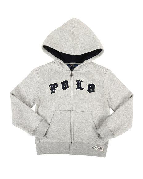 Polo Ralph Lauren - Seasonal Fleece Polo Hoodie (4-7)