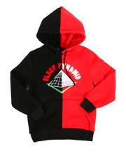Boys - Split Block Drip Logo Pullover Hoodie (5-18)-2307609