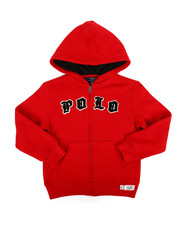 Polo Ralph Lauren - Seasonal Fleece Polo Hoodie (4-7)-2307383